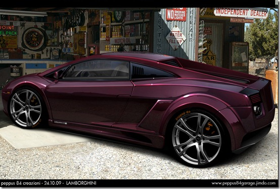 lamborghini peppus84 by peppus84 thumb 50 Great Examples of Car Tuning In PhotoShop