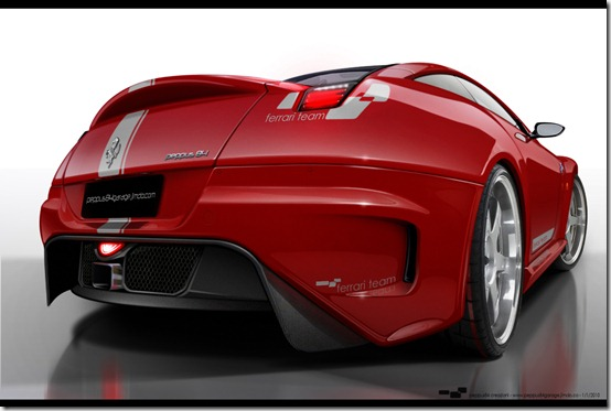 virtual tuning ferrari by pepp by peppus84 thumb 50 Great Examples of Car Tuning In PhotoShop