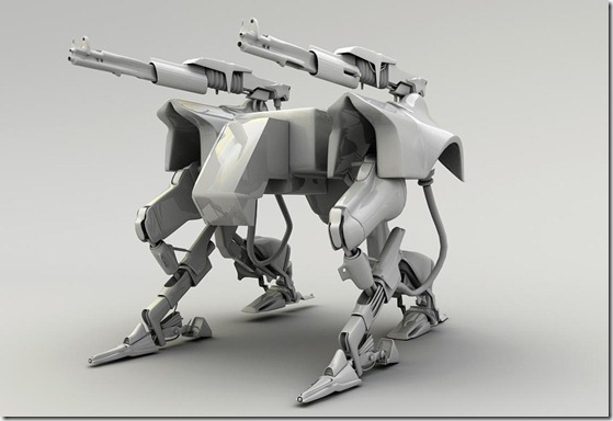 3d Robot by karsten thumb1 Very Inspiring 3d Robot Illustrations