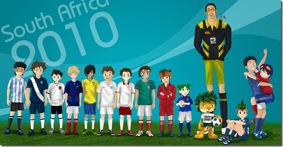 Animu World Cup 2010 by hoiysaky07 thumb World Cup 2010 Best Wallpapers And Inspirations