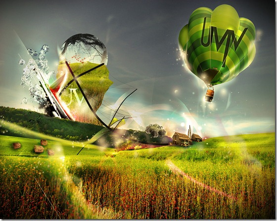 Ballon by mal93 thumb 13 Dreamy Ballon Photography