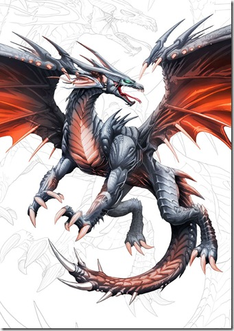 Dragon_negro_de_alas_rojas__y__by_el_grimlock