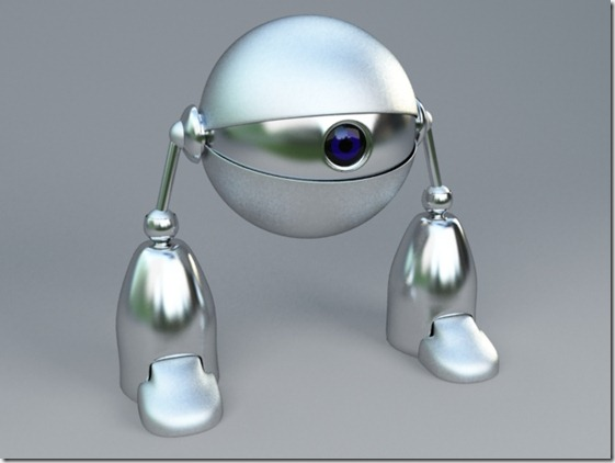 Eye Robot by victorribeiro thumb1 Very Inspiring 3d Robot Illustrations