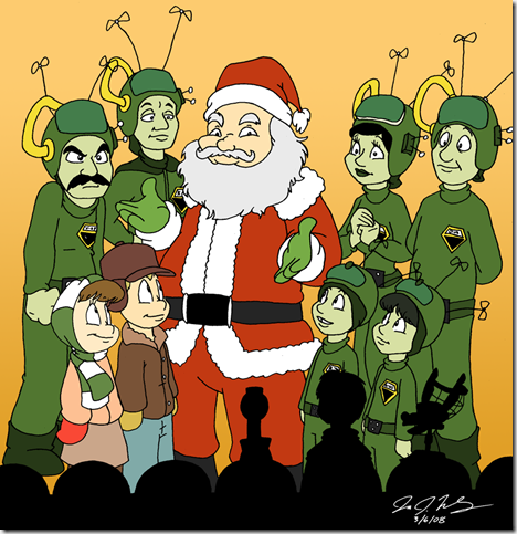 Hooray for Santy Claus by jbwarner86 thumb 30 Inspiring Santa Clauses That Are Not Real