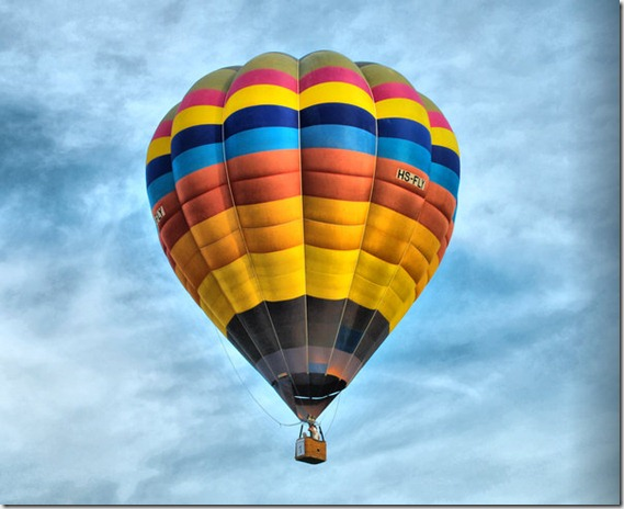 Hot Air Ballon by alphacolor thumb 13 Dreamy Ballon Photography