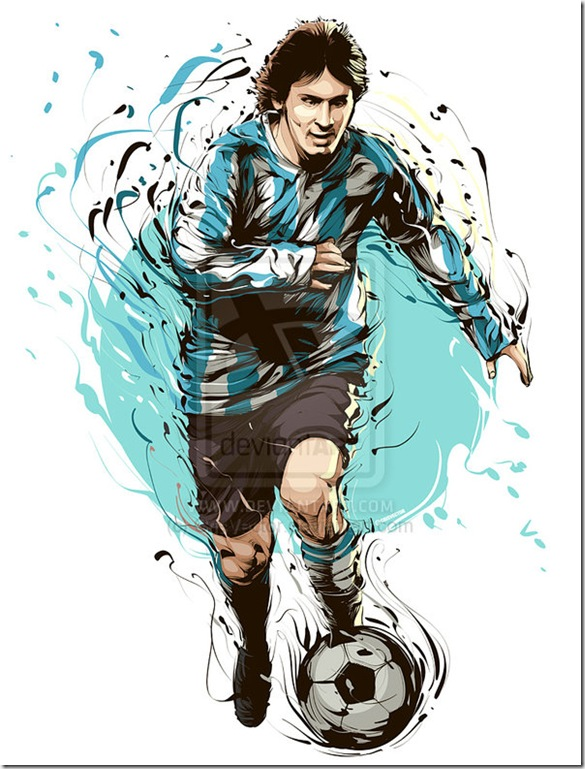 Lionel messi by CrisVector thumb World Cup 2010 Best Wallpapers And Inspirations