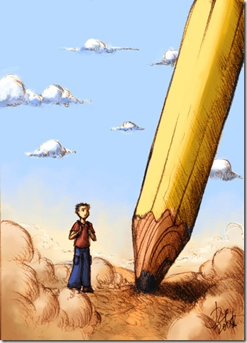 Lost Pencil by ika siyam thumb 30 Beautiful Pencils and Pencil Creations