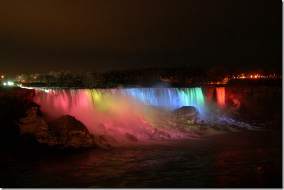 Niagara Falls Illuminated by kuschelirmel thumb 40 Amazing photos of Niagara Falls