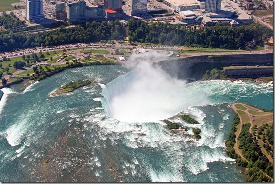 Niagara Falls from Above by rosswillett thumb 40 Amazing photos of Niagara Falls