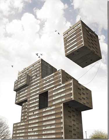 Playing With Architecture by Dizaztor thumb 20 Amazing Examples Of Unusual Buildings