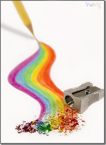 Rainbow Pencil by PinkFireFly thumb 30 Beautiful Pencils and Pencil Creations