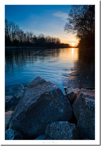 River Sunset by AndreasResch thumb 30 Rivers That Will Make You Love Them