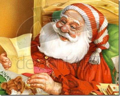Santa Claus by cannella cannella thumb 30 Inspiring Santa Clauses That Are Not Real