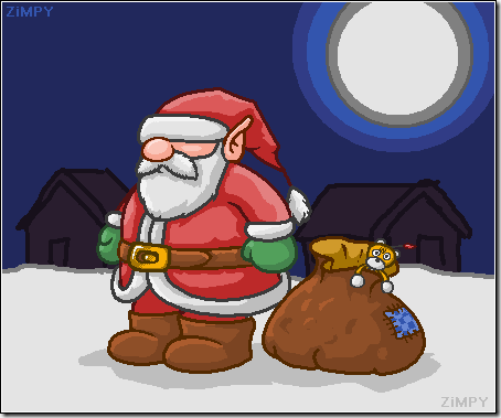 Santa Claus by zimpy222 thumb 30 Inspiring Santa Clauses That Are Not Real