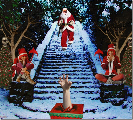 Santa Claus is back by frenchfox thumb 30 Inspiring Santa Clauses That Are Not Real
