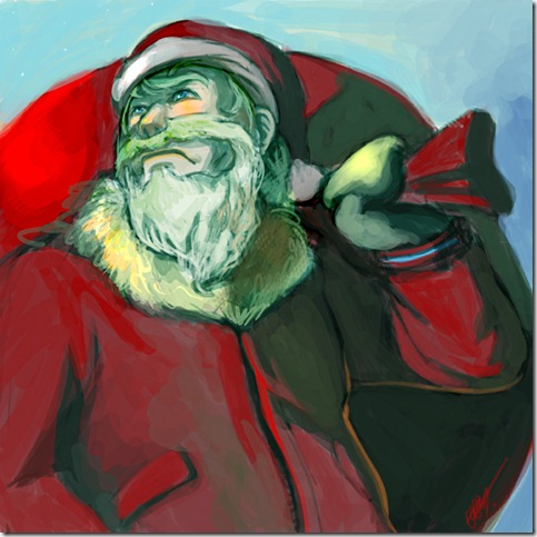 Santa claus by zero zero nine thumb 30 Inspiring Santa Clauses That Are Not Real