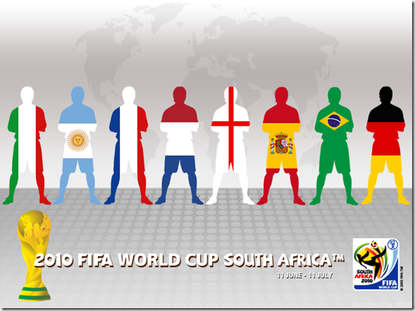 South Africa 2010 World Cup by Mirk8 thumb World Cup 2010 Best Wallpapers And Inspirations