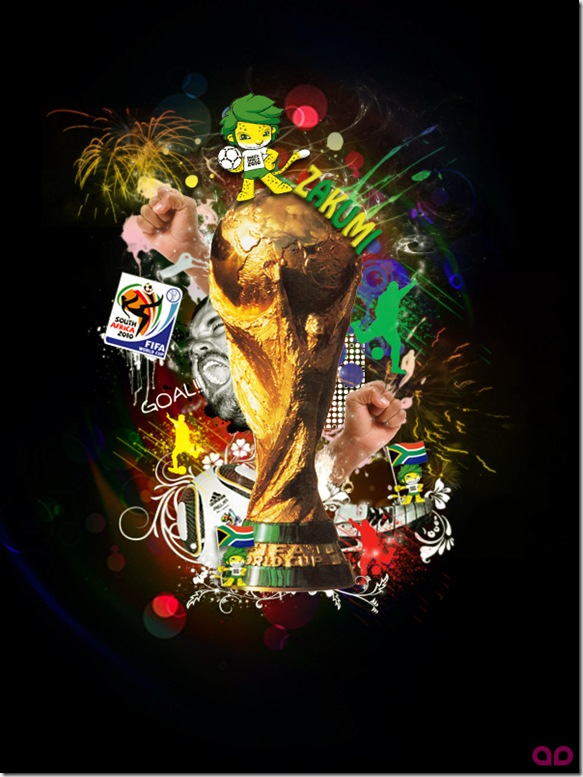 Tribute To FIFA World Cup 2010 by agoez depe thumb World Cup 2010 Best Wallpapers And Inspirations