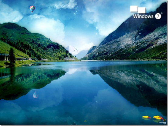 Win7byHuGg30 thumb 32 Defaults Windows 7 Wallpapers
