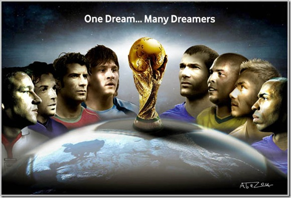 World Cup Tribute by abazou thumb World Cup 2010 Best Wallpapers And Inspirations