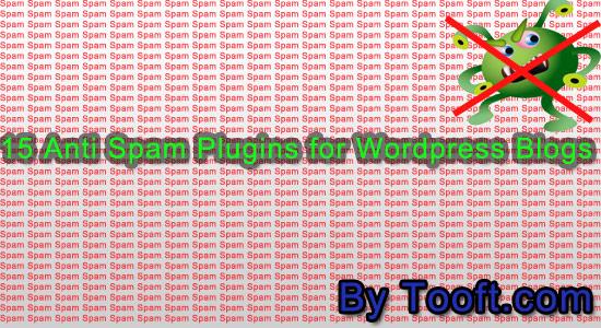 15 Anti Spam Plugins for WordPress Blogs