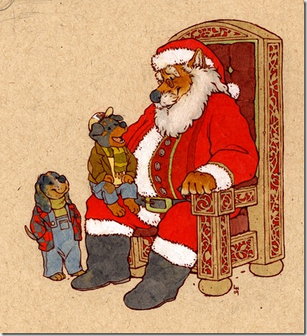brophey claus by luve thumb 30 Inspiring Santa Clauses That Are Not Real