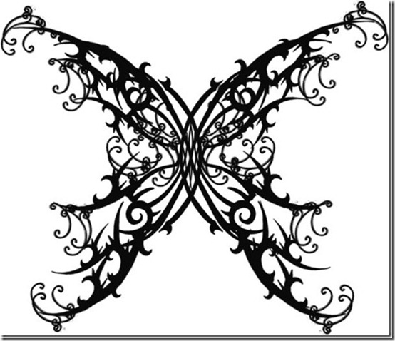 gothicbutterflytattoobyquicksilverfurythumb thumb Beautiful Tattoos Design