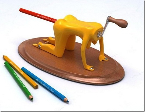 irspencilsharpener thumb 30 Beautiful Pencils and Pencil Creations
