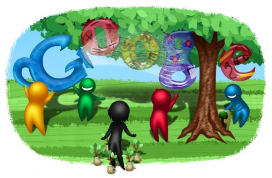 436ad1f7c15f44f27383e0342b953781 550x361 30 Beautiful Google Doodles
