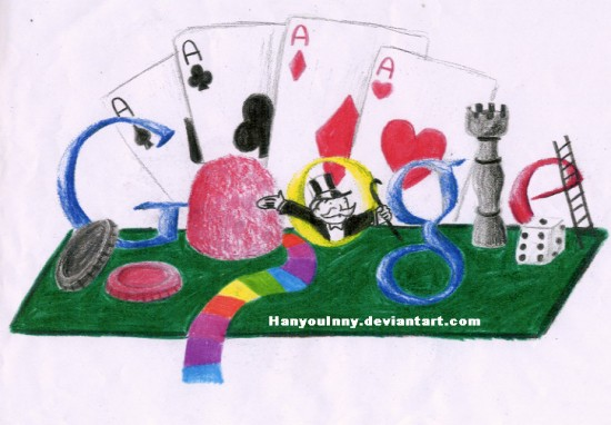 Doodle for Google by HanyouInny 550x382 30 Beautiful Google Doodles