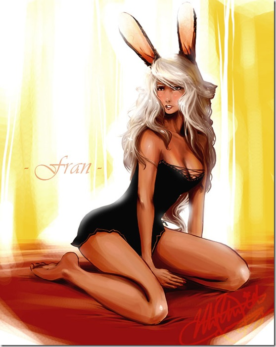 FFXII  Sexy Fran by EiffelArt thumb Beautiful Digital Girls