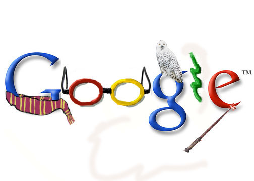 Google Doodle for Harry Potter by singinshowtunes 30 Beautiful Google Doodles