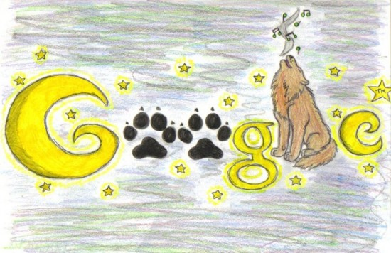 Google by Chocobax 550x356 30 Beautiful Google Doodles