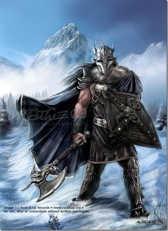 Ice Warrior by nathie thumb Very Creative Warrior Drawing And Art Works