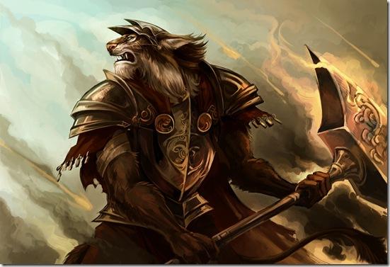 Lynx_warrior_by_sandara