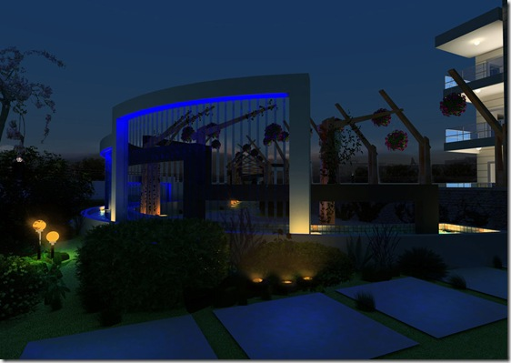Pandora Residences Ent  Night by solarseas thumb Most Beautiful Examples Of Clear 3 Dimensional Art