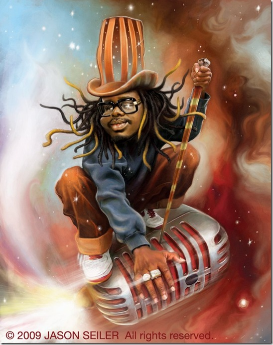 T Pain for KING magazine by jasonseiler thumb Celebrity Caricature Inspirations