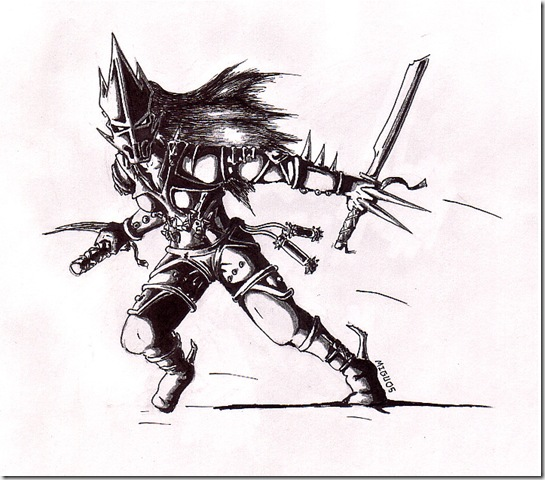 Warrior by kataclysm thumb Very Creative Warrior Drawing And Art Works