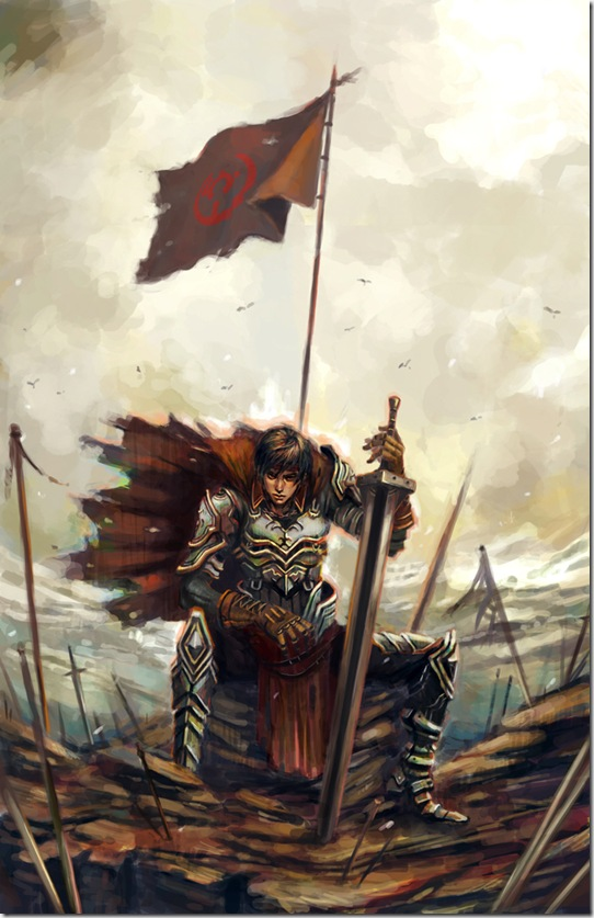 Warrior_by_longai