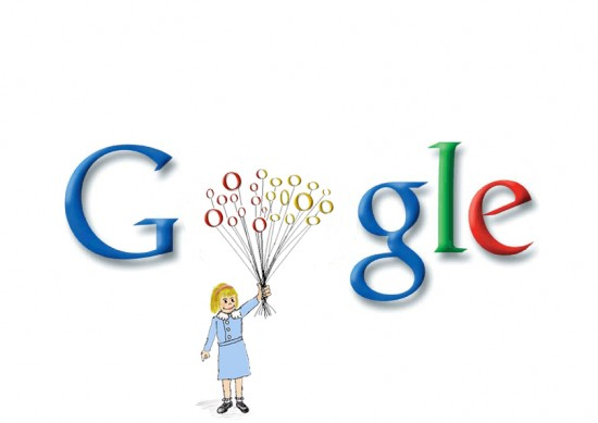 google by barittos 550x389 30 Beautiful Google Doodles