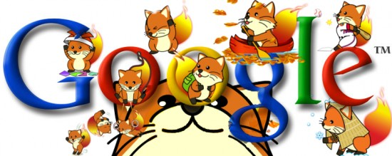 my doodle for google by bunnymuncher 550x219 30 Beautiful Google Doodles