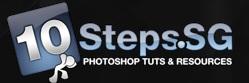 10 steps logo