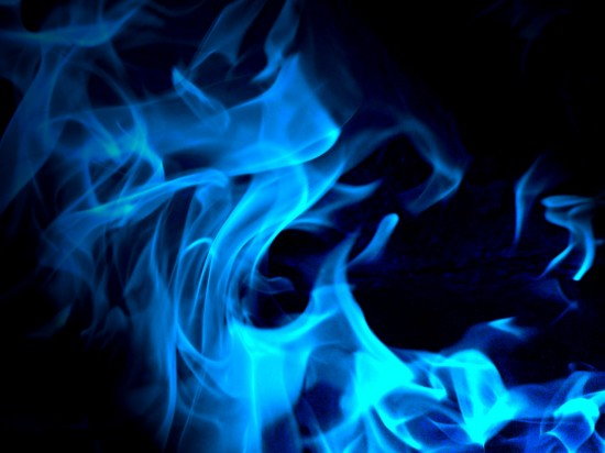 Blue Fire 550x412 Into The Blue