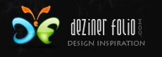 Deziner Folio logo 25 Excellent Websites To Spread Away Your Design Resources