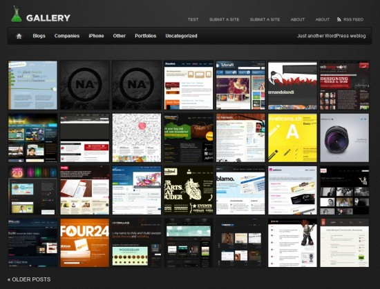 Gallery free wp portofilio template