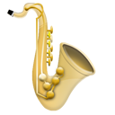 Instrument, Jazz, Music, Saxophone  icon