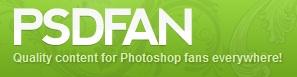 psd fan logo