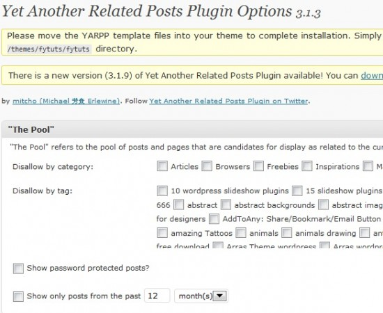 yet another related posts plugin 550x450 Make Your Sidebar Look Better With Best Plugins And Widgets