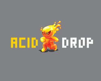 ACID DROP 42 Awesomely Created Logo Characters