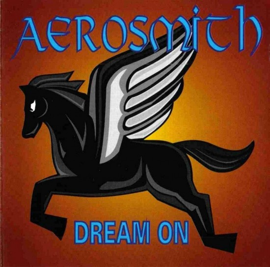 AllCDCovers aerosmith dream on 1994 retail cd front 550x543 23 Rock/Metal Album Covers That Will Stun You